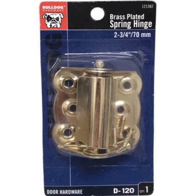 Bulldog Hardware Brass Plated 2-3/4