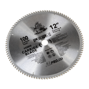 12-Inch X 100-Tooth Carbide Saw Blade