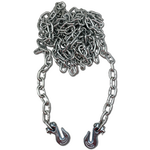 1/4 x 12 - Log Chain with Forged Hooks