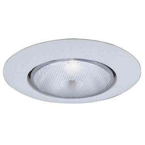 Commercial Electric 6 in. R40 White Recessed Open Trim Damaged Box-recessed fixtures-Tool Mart Inc.