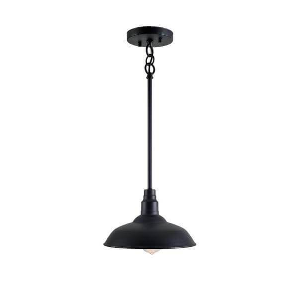 Dale 1-Light Black Mini Pendant Damaged Box-Lighting-Tool Mart Inc.