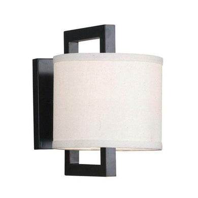 Dalton 1-Light Oil Rubbed Bronze Sconce Damaged Box-sconces & wall fixtures-Tool Mart Inc.