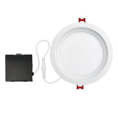 Designer Slim Glare Control 6 in. White Integrated LED Recessed Kit Damaged Box-recessed fixtures-Tool Mart Inc.