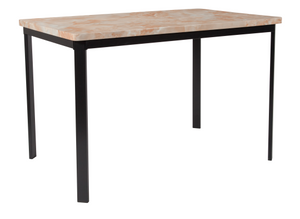 Dining Table in Quartz Marble-Like Finish-furniture-Tool Mart Inc.