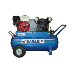 Eagle 5.5 HP 25 Gallon Air Compressor with Electric Start-eagle air compressors-Tool Mart Inc.