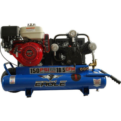 Eagle 9 HP 10 Gallon Air Compressor-eagle air compressors-Tool Mart Inc.