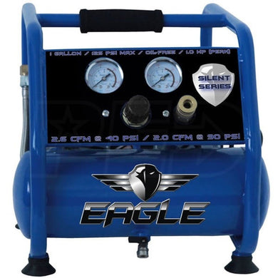 Eagle Silent Series 1 HP 1 Gallon Compressor EA-3000-eagle air compressors-Tool Mart Inc.