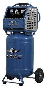 Eagle Silent Series 2-HP 20-Gallon Air Compressor-eagle air compressors-Tool Mart Inc.