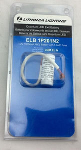 ELB 1P201N2 Quantum 1.2-Volt Exit Replacement Battery Damaged Package-Lighting-Tool Mart Inc.