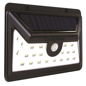 Ever Brite Black Motion Activated Outdoor Integrated LED Area Light with 24 White Solar Light Damaged Packaging-outdoor lighting-Tool Mart Inc.