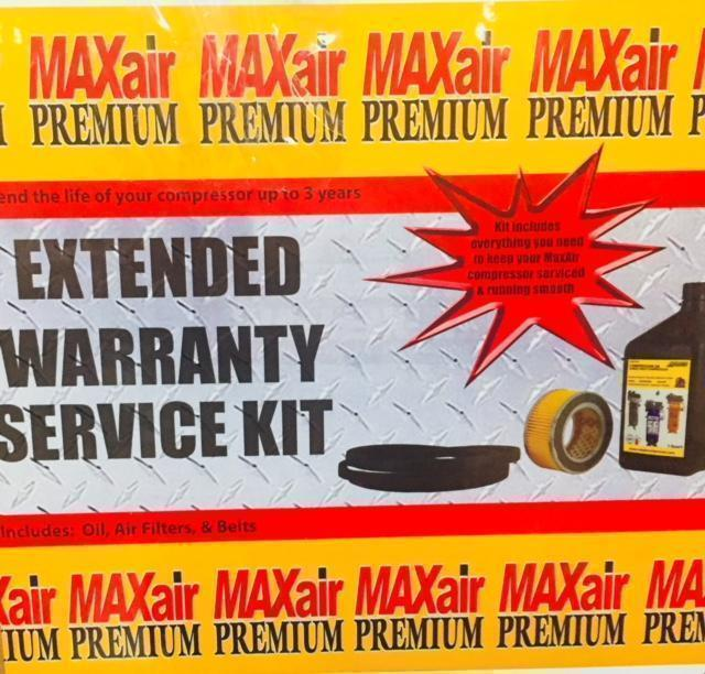 Extended Warranty For P5125hl-MAP Air Compressor-max air air compressors-Tool Mart Inc.
