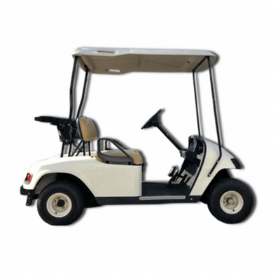 EZGO Gas-Powered Golf Cart with Top Used-ATV & TOYS-Tool Mart Inc.