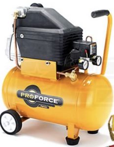 Factory Serviced 2 Horsepower 6 Gallon Air Compressor-other air compressors-Tool Mart Inc.