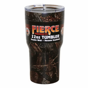 Fierce 22oz Camo Tumbler-coolers & drinkware-Tool Mart Inc.