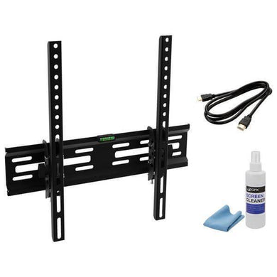 Fixed/Tilt TV Mount Kit for TVs 28 in. to 60 in. with 20° Tilt up to 99 lbs. Damaged box-tv mounts-Tool Mart Inc.