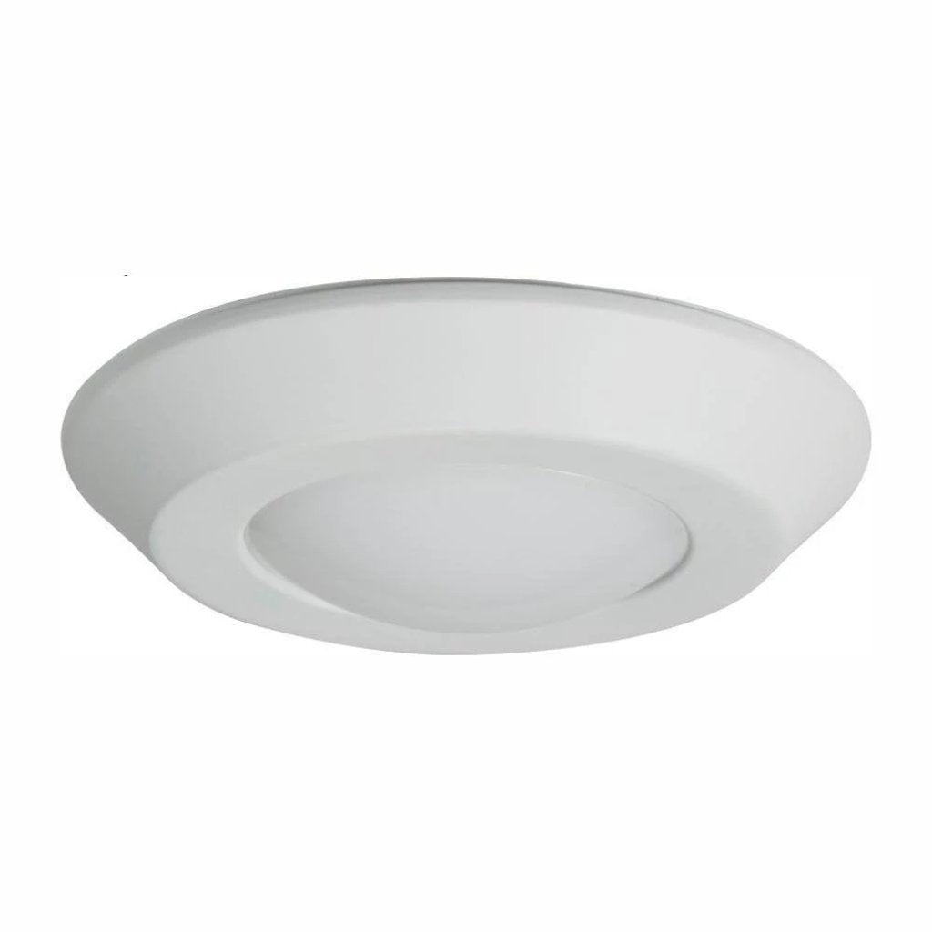 Halo BLD 4 in. White Integrated LED Recessed Ceiling Mount Light Trim at Selectable CCT (2700K-5000K), Title 20 Compliant Damaged Box-light-Tool Mart Inc.