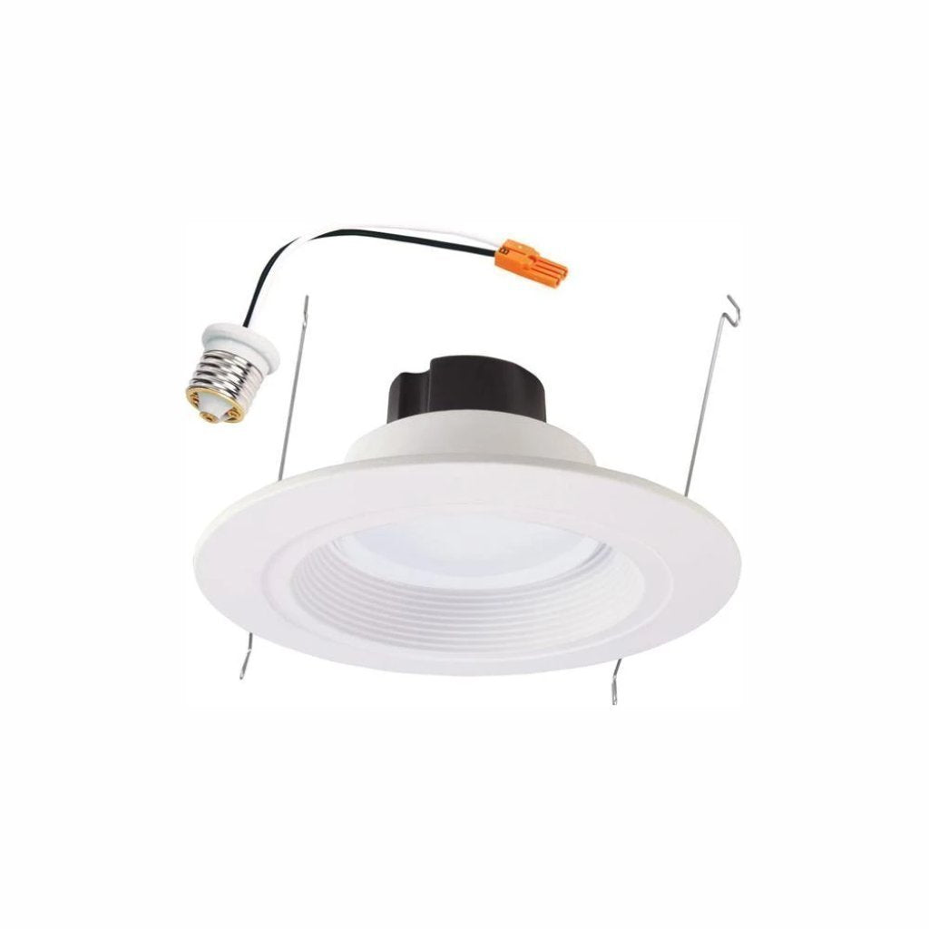 Halo RL 5 in. and 6 in. White Integrated LED Recessed Retrofit Ceiling Light Fixture, 910 Lumens, 90 CRI, 3500K Bright White Damaged Box-recessed fixtures-Tool Mart Inc.