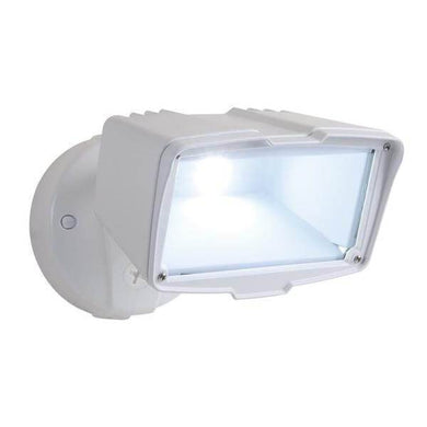 Halo White Outdoor Integrated LED Large-Head Security Flood Light Damaged Box-security & motion sensor lights-Tool Mart Inc.
