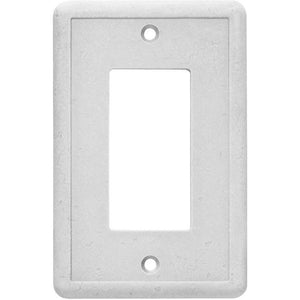 Hampton Bay 1 Gang Toggle Wall Plate Gray Outlet Switch Cover Damaged Box-outlets, switches, & plates-Tool Mart Inc.