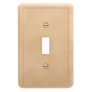 Hampton Bay 1-Toggle Wall Plate, Noche Damaged Box-outlets, switches, & plates-Tool Mart Inc.