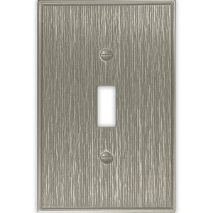 Hampton Bay Pearson 1 Gang Toggle Brushed Nickel Damaged Box-outlets, switches, & plates-Tool Mart Inc.