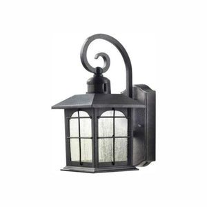 Home Decorators Collection Aged Iron Outdoor Wall Lantern Sconce Damaged Box-outdoor lighting-Tool Mart Inc.