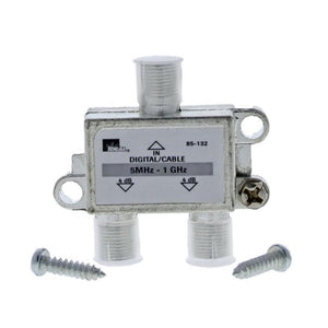 Ideal 2 Way Cable Splitter 5MHz 1GHz