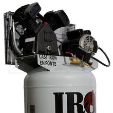 Iron Horse 3.2-HP 60-Gallon Single-Stage Air Compressor 208/230V 1-Phase-iron horse air compressors-Tool Mart Inc.