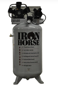Iron Horse 80 Gallon Two Stage Air Compressor-iron horse air compressors-Tool Mart Inc.