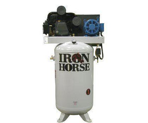 Iron Horse 80 Gallon Two-Stage Air Compressor Three Phase-iron horse air compressors-Tool Mart Inc.