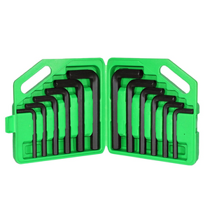 12 Piece Jumbo Hex Key Set MM/SAE