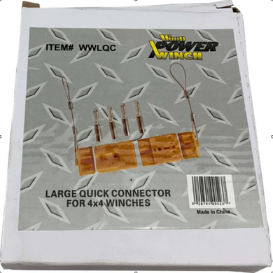 Large Quick Connect-winches & jacks-Tool Mart Inc.