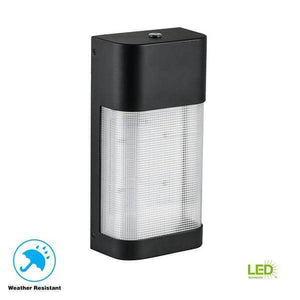 LED Outdoor Dusk to Dawn Area Flood Wall Pack Light Damaged Box-security & motion sensor lights-Tool Mart Inc.