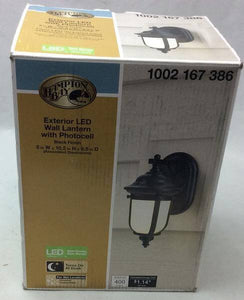 LED Small Exterior Wall Light with Dusk to Dawn Control Damaged Box-outdoor lighting-Tool Mart Inc.