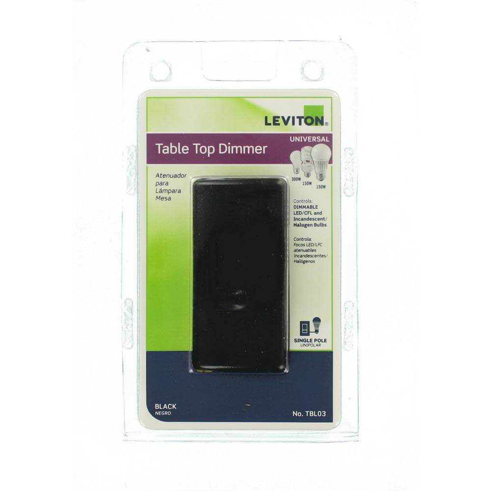 Leviton tabletop dimmer damaged box-outlets, switches, & plates-Tool Mart Inc.