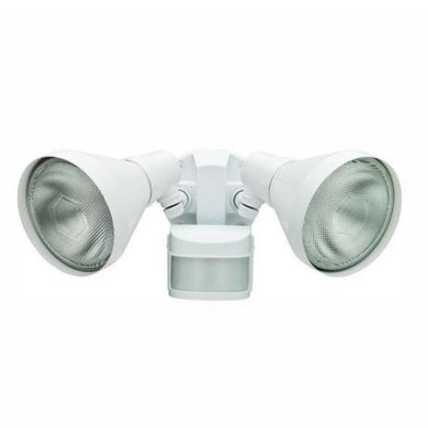 Defiant 270-Degree White Motion Outdoor Security Area Light Damaged Box