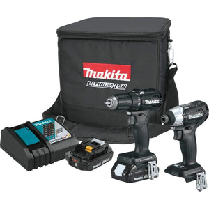 Makita 18V LXT Sub-Compact 2pc Combo Kit *Factory Serviced*-Makita-Tool Mart Inc.
