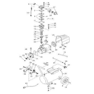 Max Air 10 HP 120 Gallon Air Compressor (out of stock 2-6-19)-max air air compressors-Tool Mart Inc.