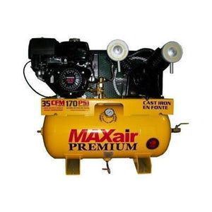 MaxAir 13 HP 30 Gallon Truck Mount Air Compressor W/Electric Start Honda Engine-max air air compressors-Tool Mart Inc.