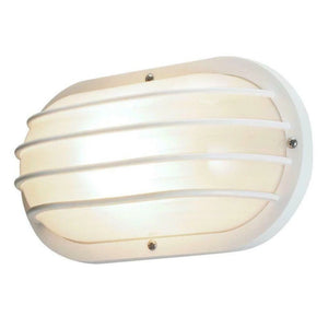 Newport Coastal White Outdoor Wall-Mount Light Damaged Box-outdoor lighting-Tool Mart Inc.