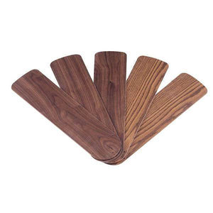 Oak/Walnut Indoor Replacement Blades for 52 in. Ceiling Fans (5-Pack) Damaged Package-ceiling fixtures & fans-Tool Mart Inc.