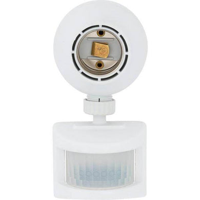 Outdoor Motion-Sensing Light Control, White Damaged Package-security & motion sensor lights-Tool Mart Inc.