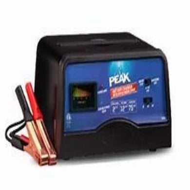 Peak 12AMP Battery Charger-chargers & starters-Tool Mart Inc.