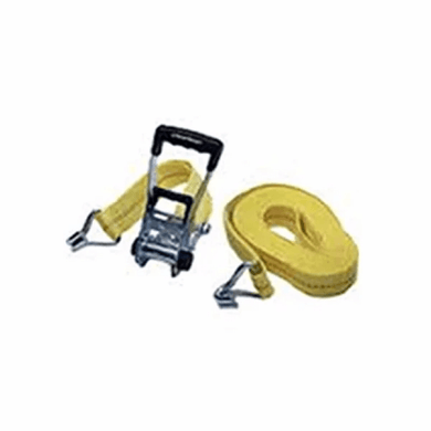 Ratchet Tie Down 1.5 Inches and 15 Feet Long With J Hook-tie downs, chains, & straps-Tool Mart Inc.