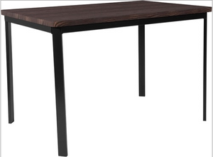 Rectangular Dining Table in Espresso Wood Finish-furniture-Tool Mart Inc.