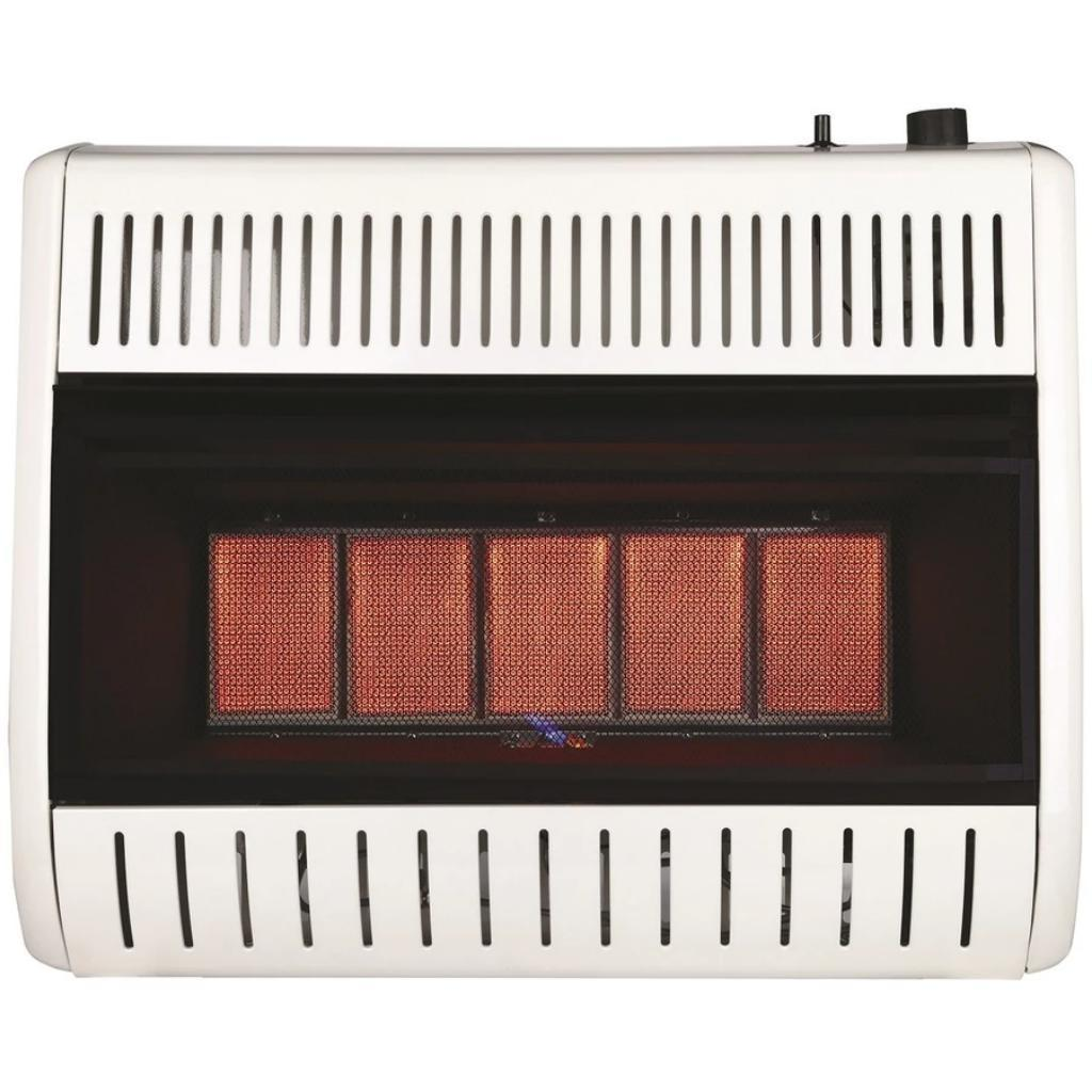 Remington 28,000 BTU Propane 5-Plaque Infrared Vent Free Heater-fans, cooling, & heating-Tool Mart Inc.
