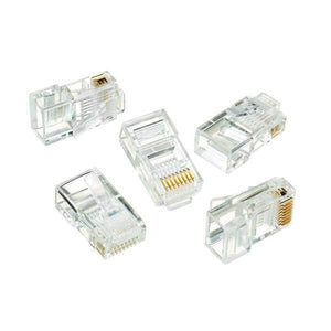 RJ-45 8-Position 8-Contact Category 5e Modular Plugs (50 per Pack)-electrical-Tool Mart Inc.