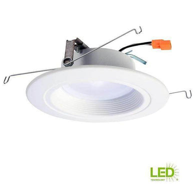 RL 5 in. and 6 in. White Integrated LED Recessed Ceiling Light Fixture Retrofit Downlight at 90 CRI, 3500K Bright White Damaged Box-recessed fixtures-Tool Mart Inc.