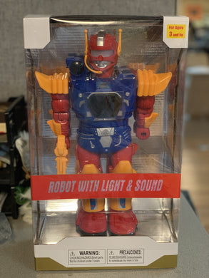 Robot With Light & Sound-toys-Tool Mart Inc.