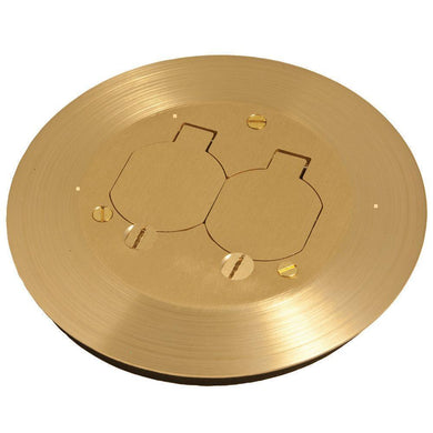 Round floor box cover kit with two lift lids damaged box-Lighting-Tool Mart Inc.
